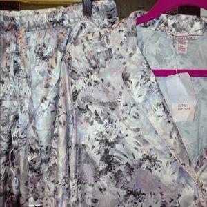 Victoria's Secret satin pajama set (both!) NWT VS